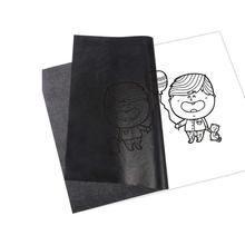 50pcs/set Carbon Papers Graphite Single-sided Black Carbon Accessories Legible Painting Painting Tracing Reusable Paper