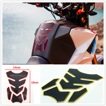 3D universal Motorcycle Fuel Oil Tank Pad Rubber Decal Cover Sticker For BMW HP2 SPORT K1200R K1200R SPORT K1200S K1300 S/R/GT image
