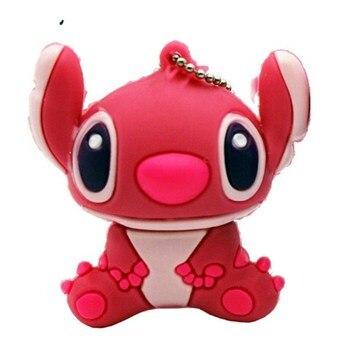 Cute Cartoon Animated Lilo&Stitch Pen Drive 64GB Usb Flash Drive 256GB Flash Memory Card 4GB 8G 16GB 32GB 128GB Pen Drive U Disk cute cartoon animated lilo