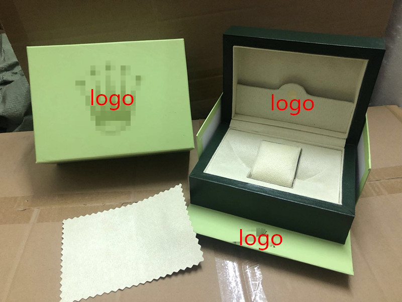 Generic Green Wave Wooden Box With Outer Box And Sleeve