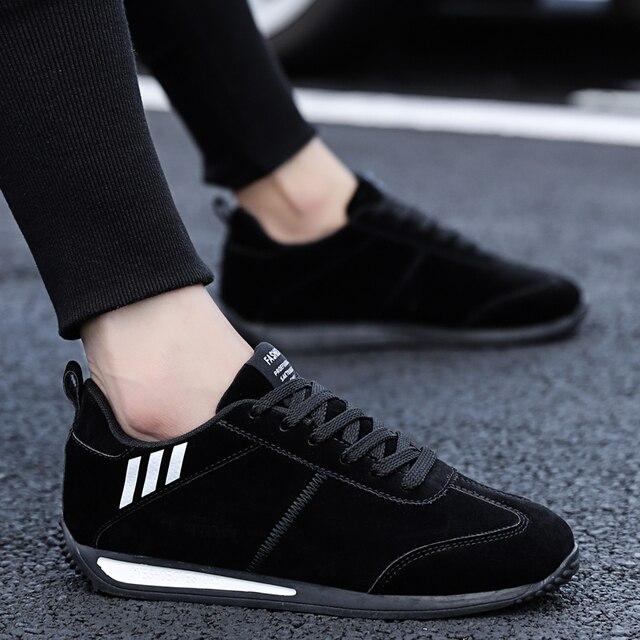 MR CO-zapatos informales para hombre estilo otoño primavera Forrest gump, cómodos, ligeros, de conducción, 2020 3