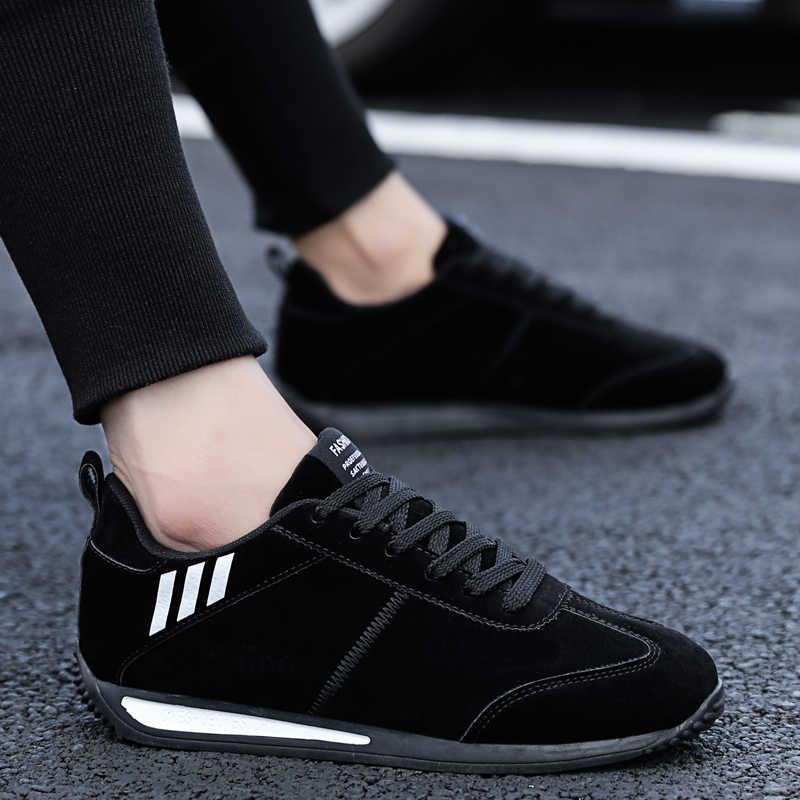 MR CO 남자 신발 봄 가을 스타일 포레스트 gump 신발 편안한 빛 캐주얼 고품질 운전 신발 2020 새로운 패션