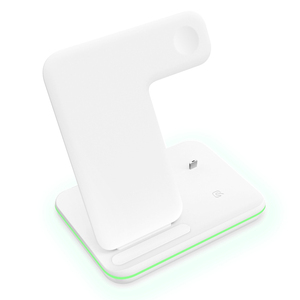 Image 5 - Wireless Charger Stand 3 in 1 Qi 15W Fast Charging Dock Station for Apple Watch iWatch 5 4 3 AirPods Pro For iPhone 11 XS XR X 8