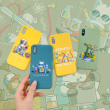Luxus Cartoon tom und jerry weichem silikon Handy Fall Turnschuhe für iphone XS XR X 7 8 Plus paar fall für iphone 11 Pro Max(China)