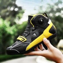 Нескользящие ботинки для мотоцикла с быстрой регулировкой; Защитное снаряжение для мотоцикла; обувь для езды на велосипеде; Байкерская обувь; Chopper Cruiser; туристические ботильоны