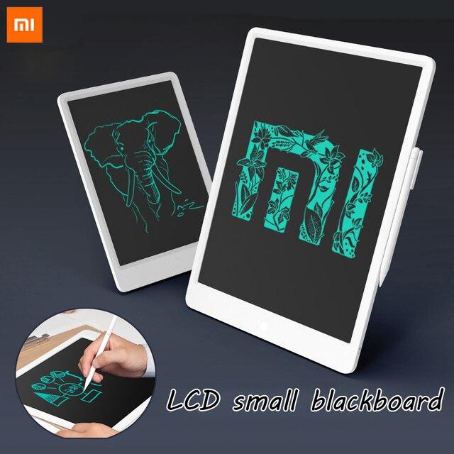 מקורי Xiaomi 10/13. 5 אינץ LCD ילדים HanWriting קטן לוח כתיבת לוח עם עט דיגיטלי ציור אלקטרוני לדמיין כרית
