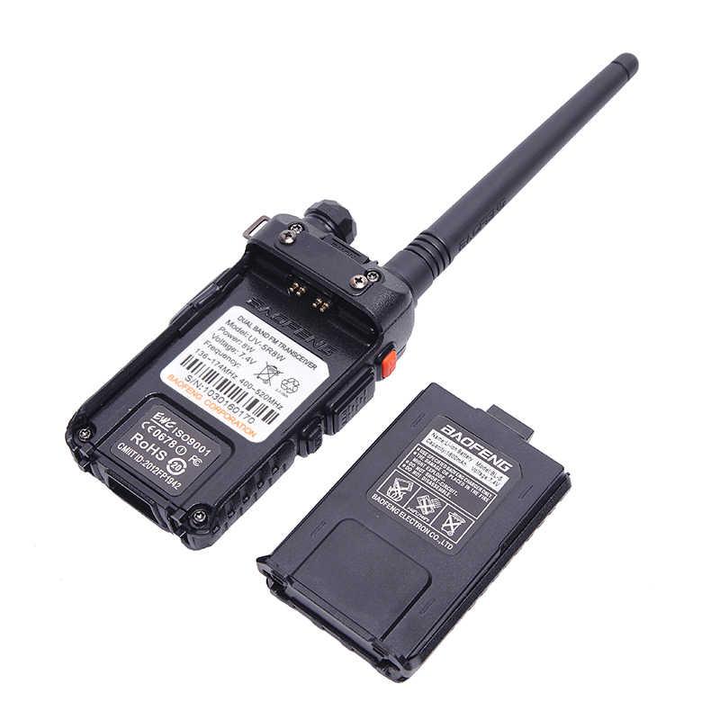 2 Stuks Real 5W/8W Baofeng UV-5R Walkie Talkie Uv 5R Krachtige Amateur Ham Cb Radio Station UV5R Dual Band Transceiver 10Km Intercom