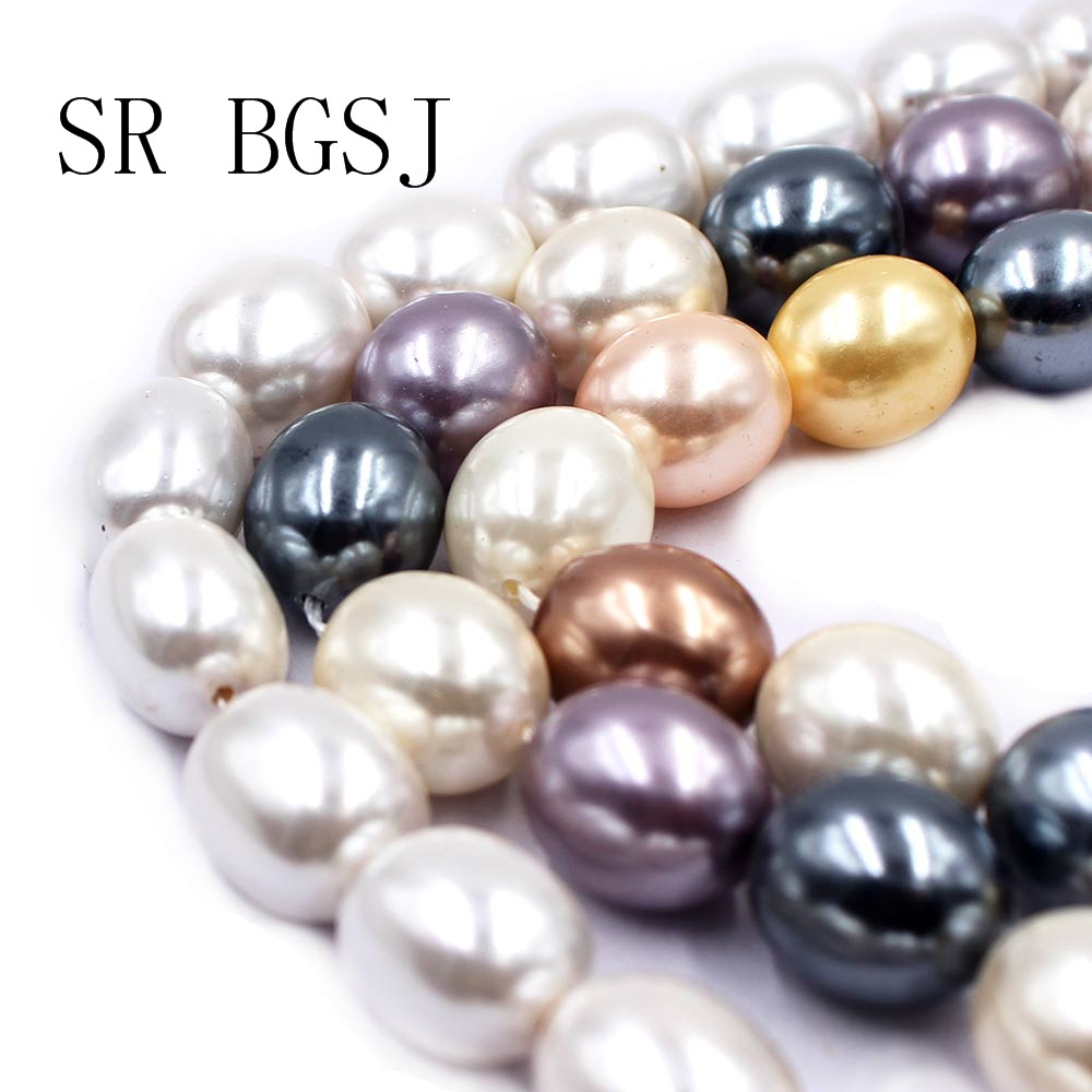 Wholesale 5 Strands 6-7mm White Freshwater Pearl Round Loose Bead 15/""