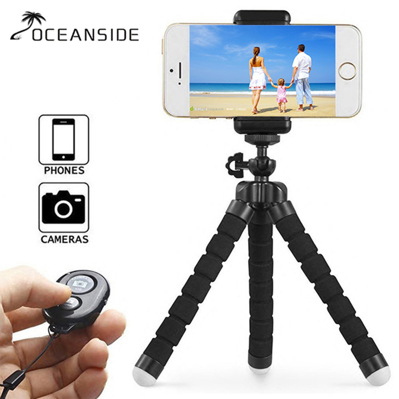 Mini Flexible Gorillapod Octopus Tripod For IPhone Samsung Xiaomi Huawei ZTE Phone Tripod Stand For Gopro Camera Holder
