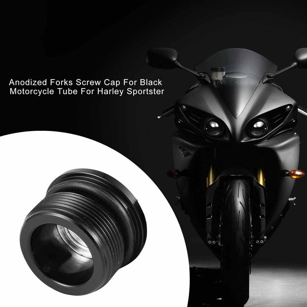 بأكسيد الشوك غطاء برغي ل أسود أنبوب الدراجة البخارية ل هارلي سبورتستر 1200 883 1987-2016 Fxr 1991-2005 Fxdl
