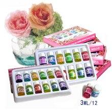 12 шт. набор ароматических эфирных масел чистые натуральные лечебные масла
