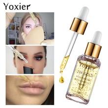 Yoxier Primer 24k Gold Moisturizing Pores Perfect Primer the ordinary makeup face base maquillaje maquiagem makeup Oil control