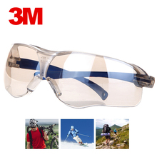 3M 10436 Safety Glasses Anti shock PC Lens Goggles Anti splash Anti UV Windproof Riding Protective Glasses Working Eyewear