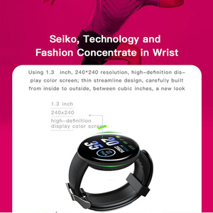 Image 4 - New Bluetooth Smart watch Men Blood Pressure Round Smart Bracelet Women Watch Waterproof Sport Tracker For Android Ios Pk Active