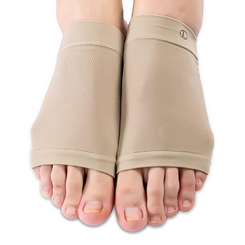 Arch Support Orthopedic Plantar Fasciitis Pad Sleeve Heel Massage Flat Feet Adjustment Insoles Foot Sock Sets*