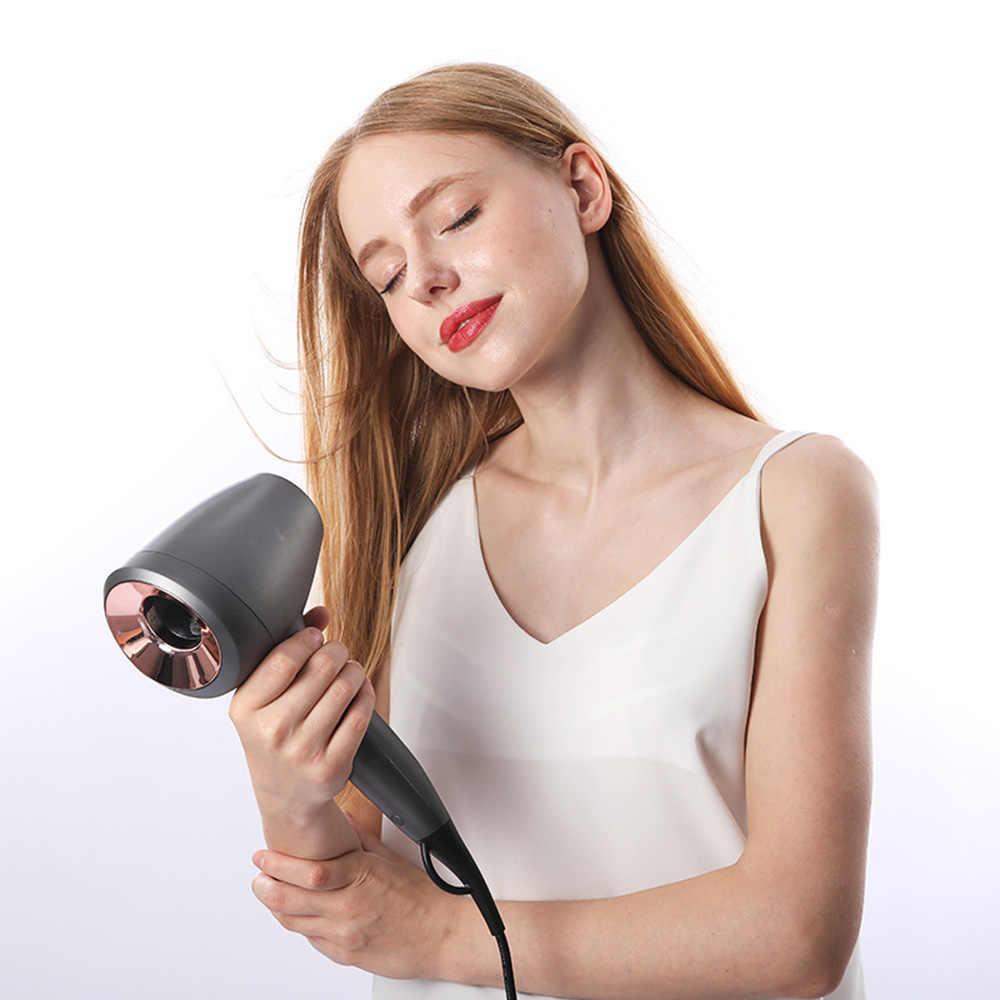 Secador de pelo Anion de 1600W, secador inteligente, Control de temperatura, sensor táctil, secador de pelo caliente y frío, multifunción, 6 engranajes, EU
