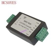 H801 wifi; RGBW светодиодный контроллер Wi-Fi; RGBW Wi-Fi светодиодный H801 контроллер; DC5-24V вход; 4CH* 4A выход