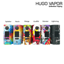 Original Hugo Vapor Rader GT218 Mage Box Mod E Cigarette TC VW 218W Mod 2A fit 18650 Battery for 510 Atomizer Tank Vape Vapor цена в Москве и Питере