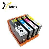 Tatrix Kompatibel für Dell 31 32 33 34 DELL31 DELL32 DELL33 DELL34 DELL31/32/33/34 tinte patronen anzug für DELL V525W V725w etc.