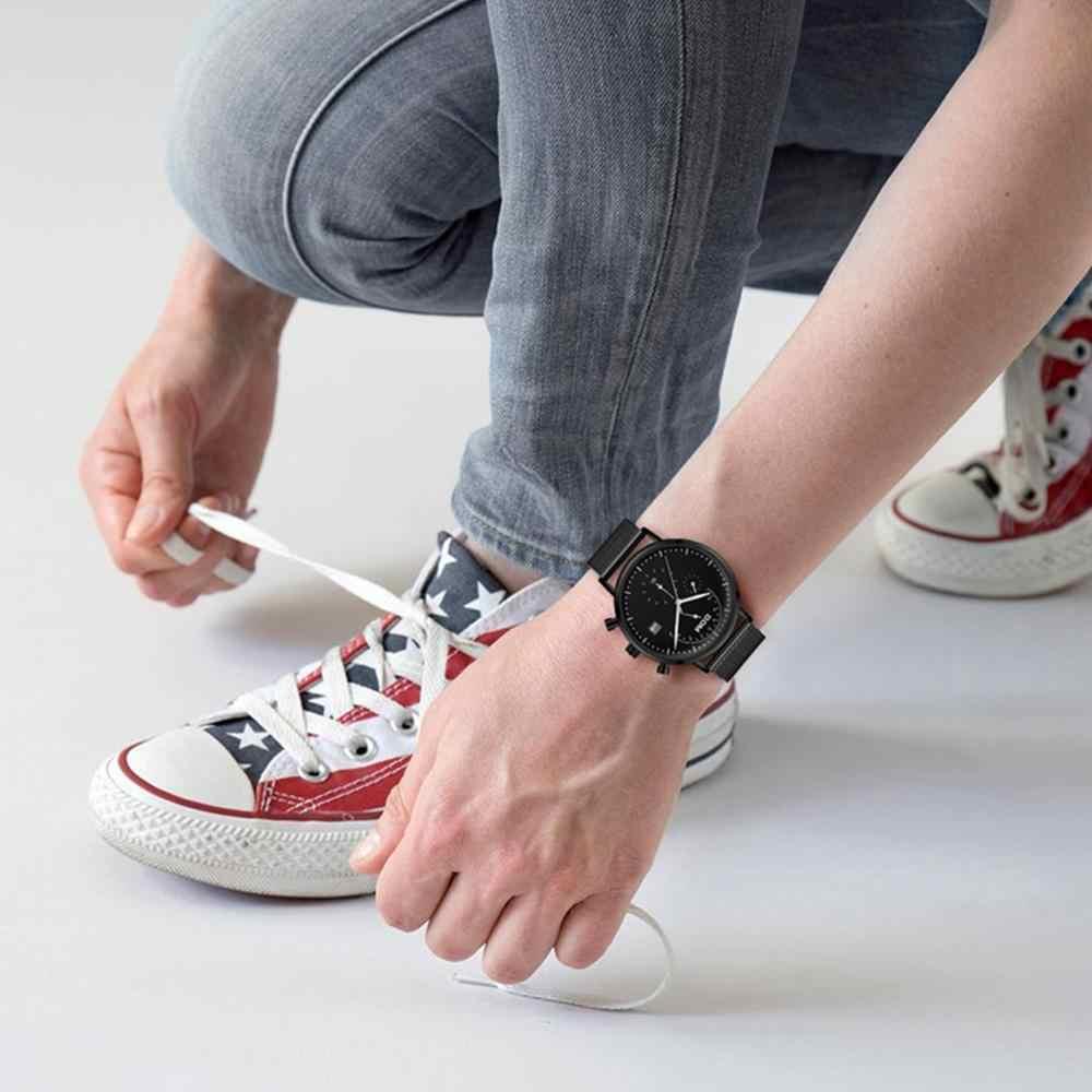 DOM אופנה גברים של ספורט שעון גברים אנלוגי קוורץ שעונים עמיד למים תאריך צבאי תכליתי יד שעונים גברים שעון M-612BL