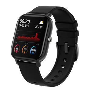 Image 5 - IP67 P8 Smart Watch Wristband Men Women Sport Clock Heart Rate Monitor Sleep Monitor Smartwatch tracker for phone Color Screen