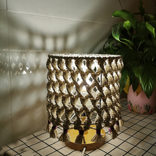 Nordic style hand woven table lamp decorative lamp bed lamp Bohemia style lamp