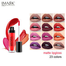 IMAGIC 23 Colors Liquid Lipstick Hot Sexy Lip Paint Matte Waterproof Strawberry Long Lasting Gloss