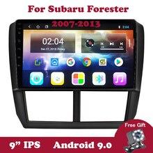 Android 9 For Subaru Forester 3 SH Impreza 2007-2013 4 Core DVD Car Radio  Multimedia Video Player Navigation GPS Bluetooth Wifi