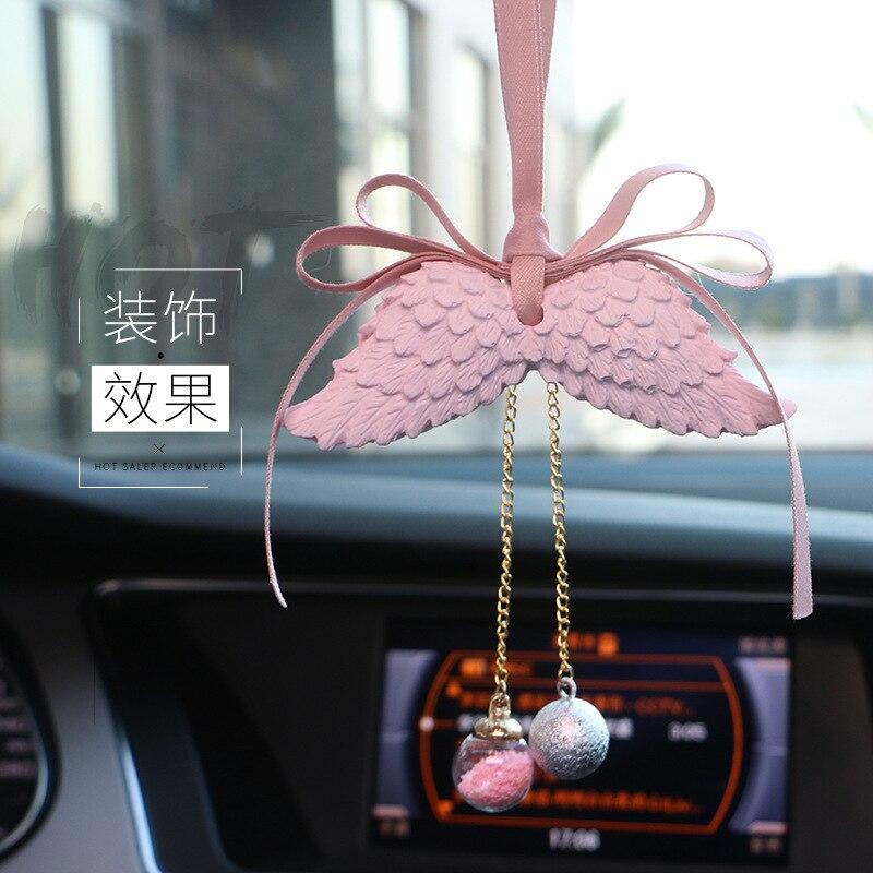 Автомобильные украшения Крыло ангела двухстороннее автомобильное освежитель воздуха висячие украшения подарок для салона автомобиля домашняя комната