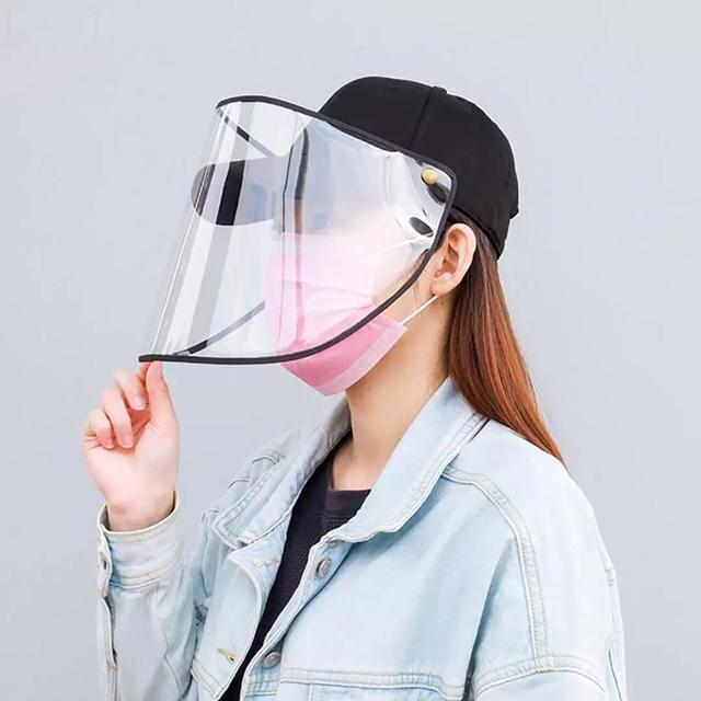 Xiaomi baseball cap Removable windproof and dustproof baseball cap Protective Face Shield Cover Cap Anti Spitting Saliva Drool 1