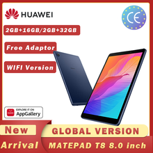 Versione globale HUAWEI MatePad T8 2GB 16GB/32GB WIFI Tablet PC 8.0 pollici facesblocco 5100mAh supporto microSD Card Android10 T8