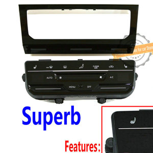 Image 4 - LCD touch screen automatic air conditioning panel Automatic AC conditioning switch for MQB Golf 7 Golf 7.5