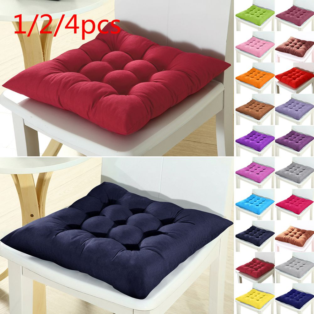 Urijk Sofa Pillow Cushions Chair Seat Office-Bar Buttocks 37x37cm Winter 1/2/4pcshome title=