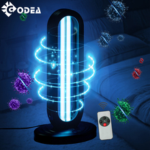 GODEA 38W UVC UV Sterilizer Lamp Ozone Germicidal Ultraviolet Disinfection Light Timer Disinfect Bacterial Kill Mites Deodorizer