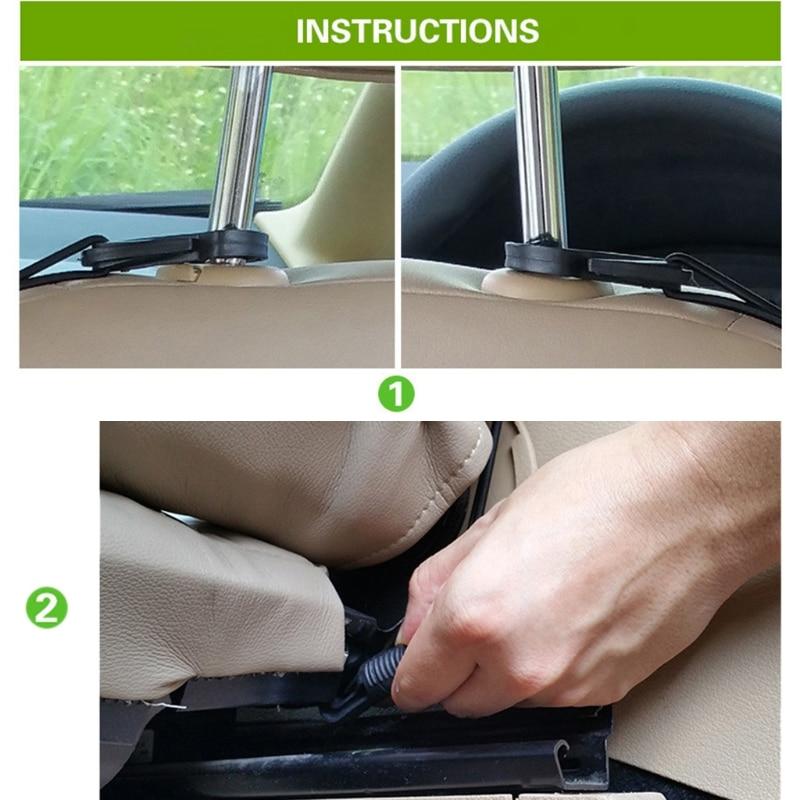 P82B Car Storage Pocket Organizer Multi-functional Automotive Goods Storage Pocket for Orderly Auto Interior Environment
