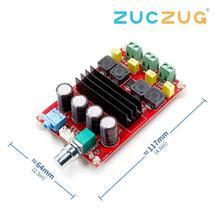 TDA3116D2 dijital ses güç amplifikatörü 100W * 2 2.0 Stereo D sınıfı HIFI amplifikatör DC 12V 24V XH M190