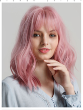 Short Natural Wave Hair Synthetic Wigs