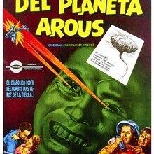 Cartel de película publicitaria Vintage El Cerebro del Planeta pinturas clásicas en lienzo carteles de pared Vintage pegatinas decoración del hogar regalo