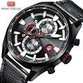 Кварцевые мужские наручные часы с кожаным ремешком класса люкс от ведущего бренда  водонепроницаемые армейские спортивные часы  мужские ча...