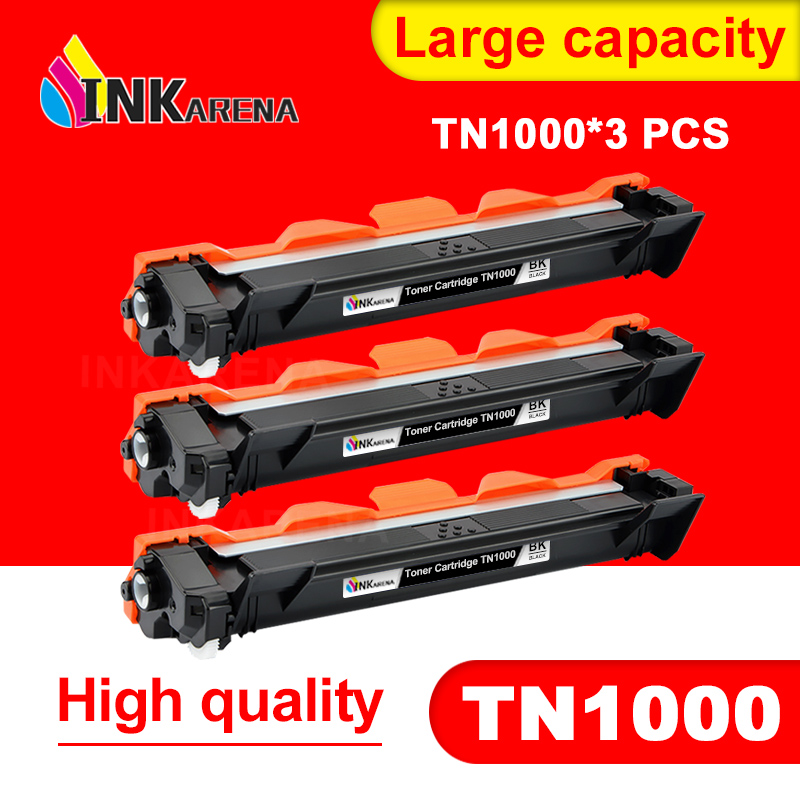 INKARENA TN1000 <font><b>Toner</b></font> Cartridge Compatible For <font><b>Brother</b></font> TN1030 TN1080 TN1060 TN1070 TN1075 <font><b>HL</b></font>-<font><b>1110</b></font> 1210 MFC-1810 DCP-1510 1610W image