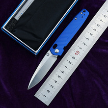 Folding Knife M390 Blade Nylon Tactical Hunting LEMIFSHE Camping Survival Edc-Tool Fiber-Handle