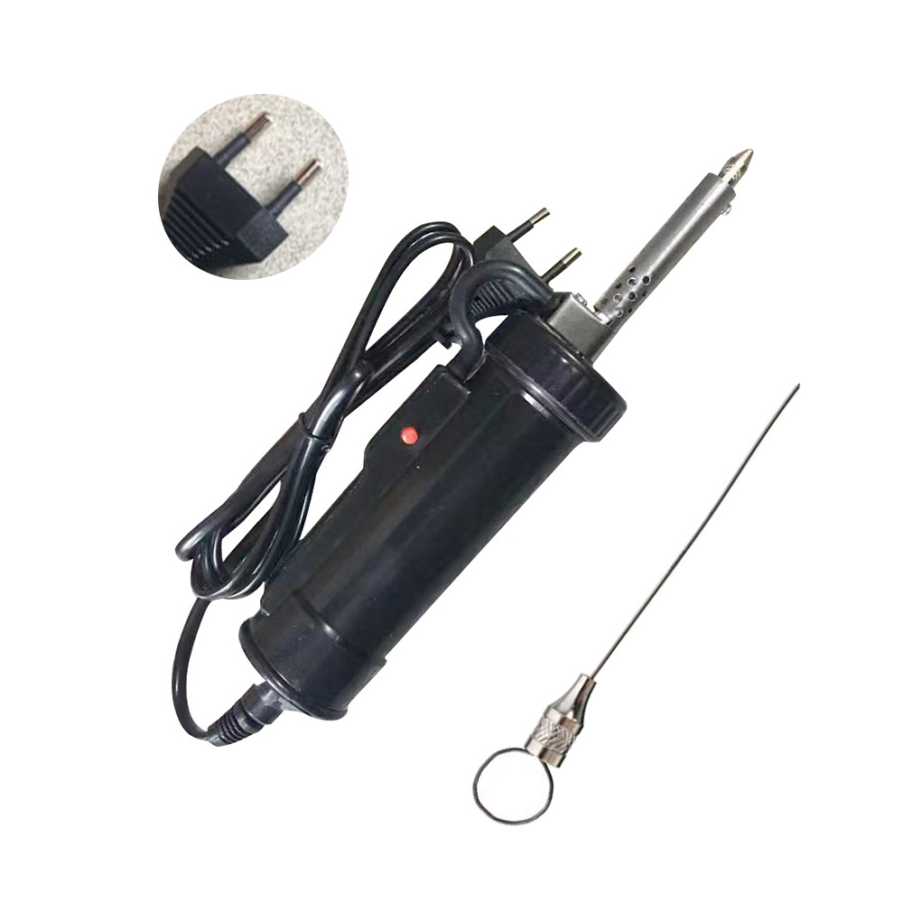 Automatic Portable Electric Suction Gun Pump Heat Suction Soldering Iron 1.5 Nozzle Tin Feeder