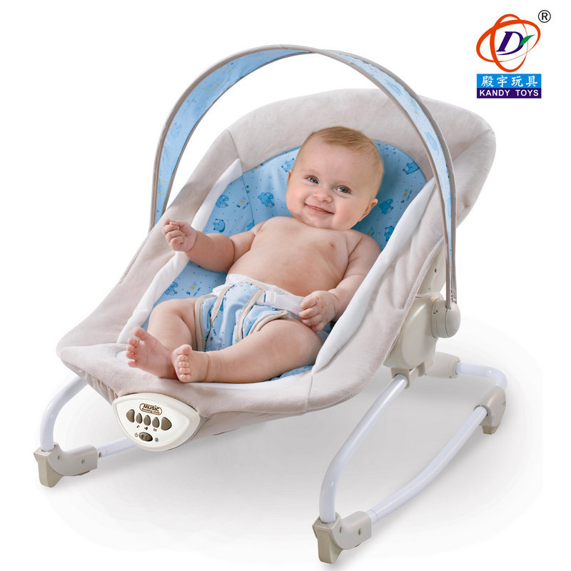 0-3years Kids Load 11kg Multifunctional Baby Sleeping Rocking Chair Vibration Comfort Music Foldable Storage Bed Music New