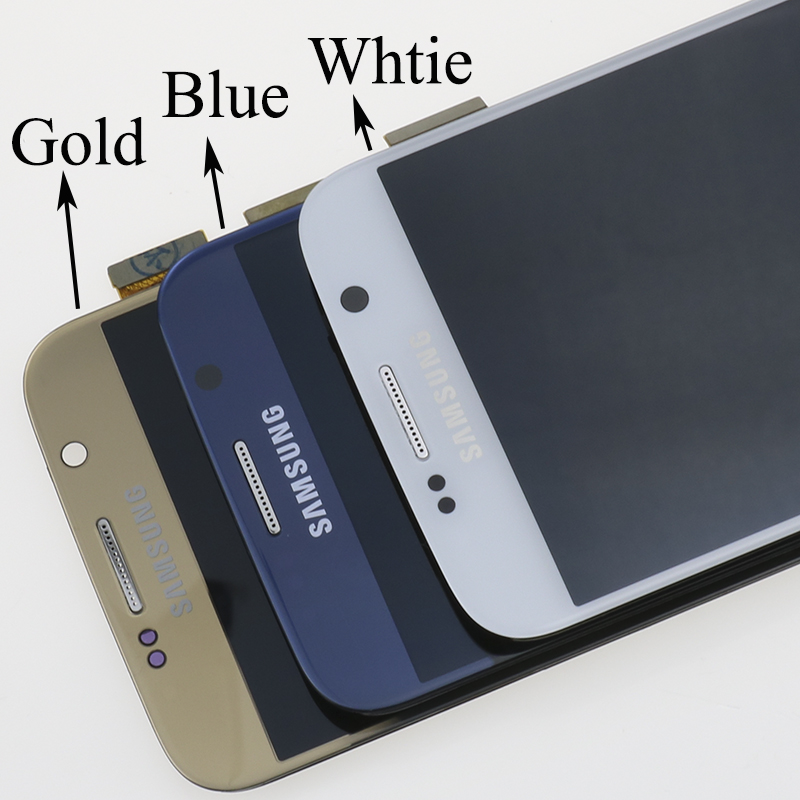 He3918e5a91454b23be8c1fb4f9e3a7de0 ORIGINAL 5.1'' Super AMOLED Replacement LCD S6 for SAMSUNG GALAXY S6 G920 SM-G920F G920F G920FD Touch Screen Digitizer Assembly