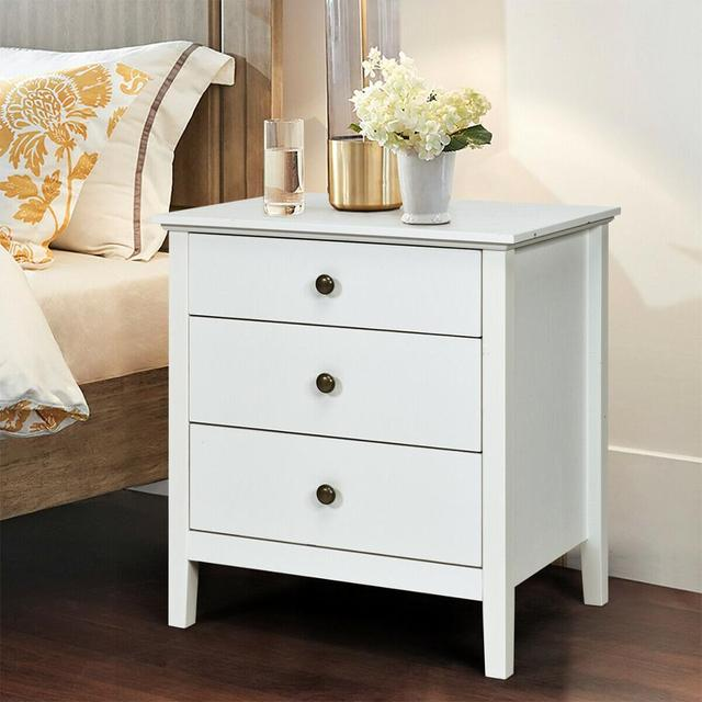 Accent Table Organizer W/3 Drawers  3