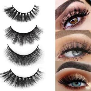 Image 3 - SHIDISHANGPIN 5 pairs mink lashes faux cils make up natural handmade mink eyelashes false eyelash extension makeup maquiagem