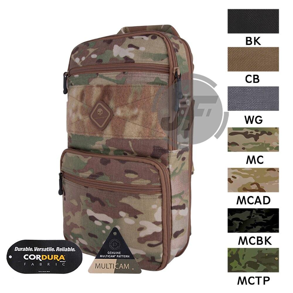 Emerson HS estilo D3CR mochila de uso sexual expandible MOLLE FlatPack ajustable al aire libre táctico Camping disparo EDC bolsa paquete
