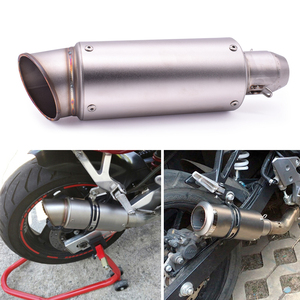 For Yamaha mt 07 09 10 mt-07mt-09 mt-10 FZ07 FZ09 FZ6R FZ8 Universal 51mm 61mm Modified Motorcycle Exhaust Pipe With DB Killer