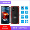 CONQUEST S20 5G Global Night Vision Smartphone IP68 Waterproof 48MP Four Camera 8GB RAM 128GB/ 256GB ROM 6.3 Inch Mobile Phones