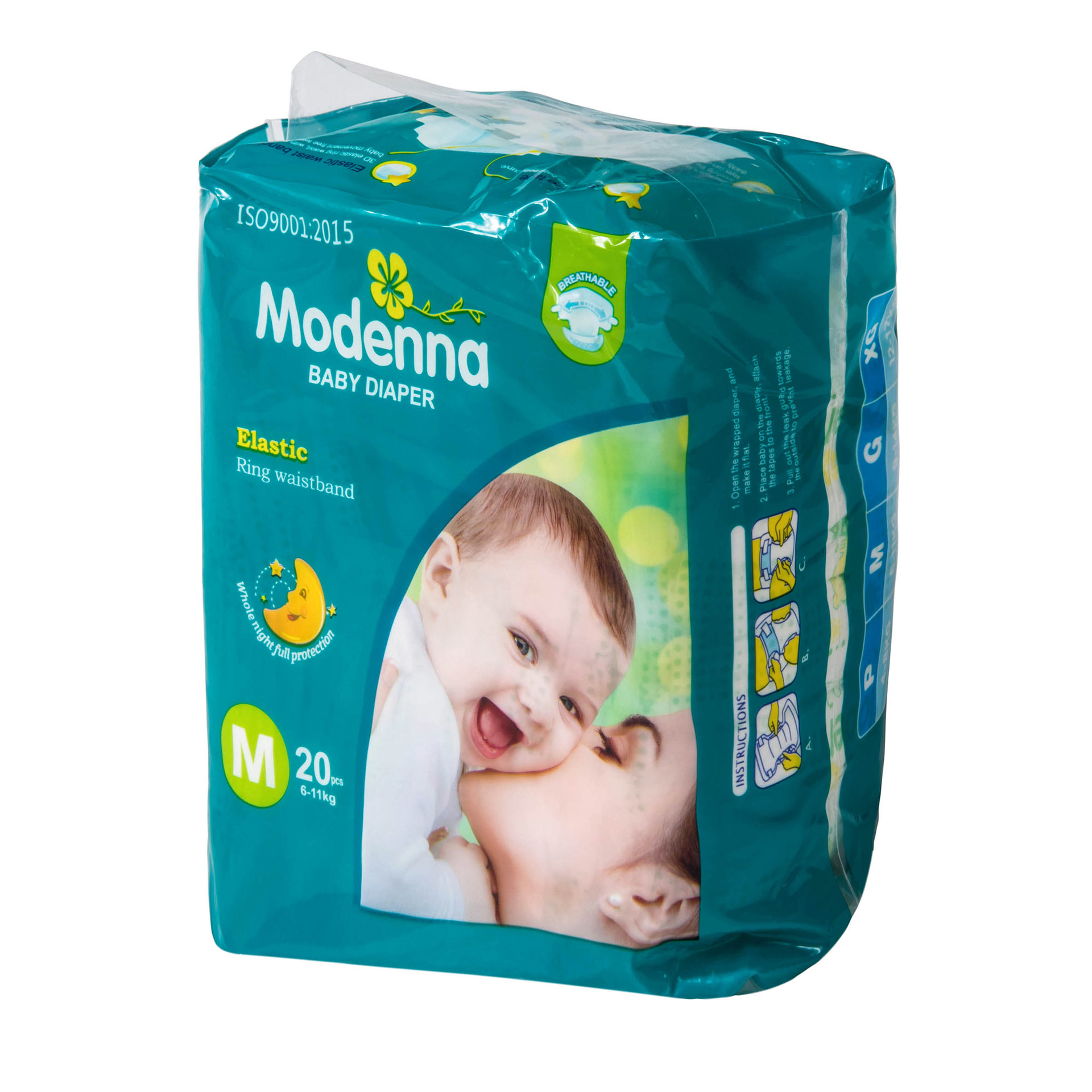China Cheap Comfortable High Absorb Good Quality Baby Diapers Disposable Super Soft Breathable